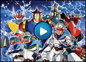 Sigla Astrorobot quattro supereroi