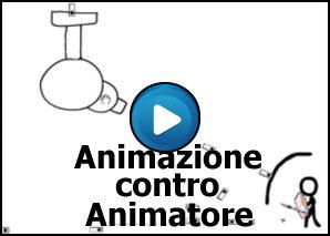 Animatore contro la sua animazione