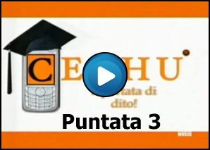 Cechu – cultura via sms Puntata 3