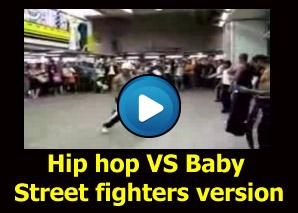 Street Fighter Baby Kick