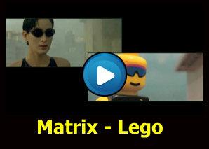 Matrix realizzato con il lego