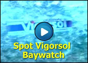 Spot Vigorsol versione Baywatch
