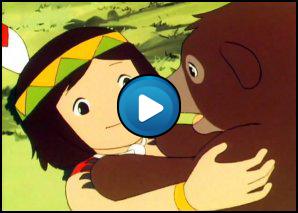 Sigla Jacky l'orso del monte Tallac (Tallak)