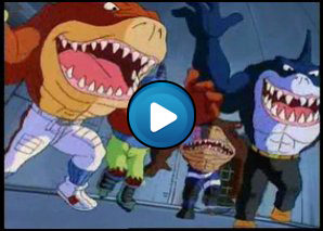 Sigla Street sharks, quattro pinne all' orizzonte