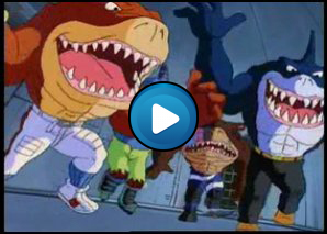 Sigla Street sharks, quattro pinne all' orizzonte