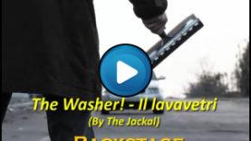 Backstage di The Washer – Il lavavetri