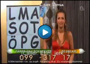 Conduttrice svedese vomita in diretta TV