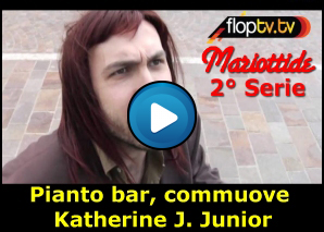 Mariottide - Pianto bar, commuove Katherine J. Junior