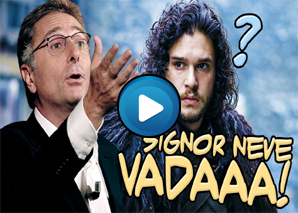 Paolo Bonolis commenta Game of Thrones