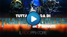 Tutta la saga di Transformers in 7 minuti