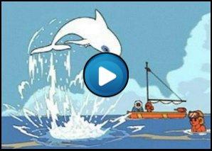 Sigla Zum il delfino bianco