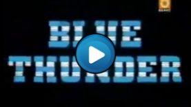 sigla tuono Blu – Blue Thundertelefilmpost